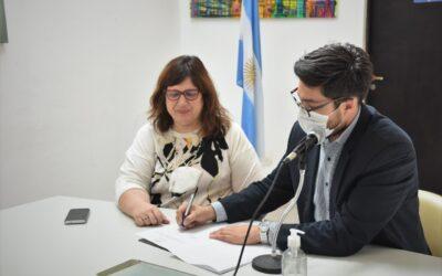 EL CONCEJO FIRMÓ CONVENIO CON EL GARRAHAN