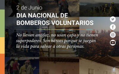 DIA NACIONAL DEL BOMBERO VOLUNTARIO